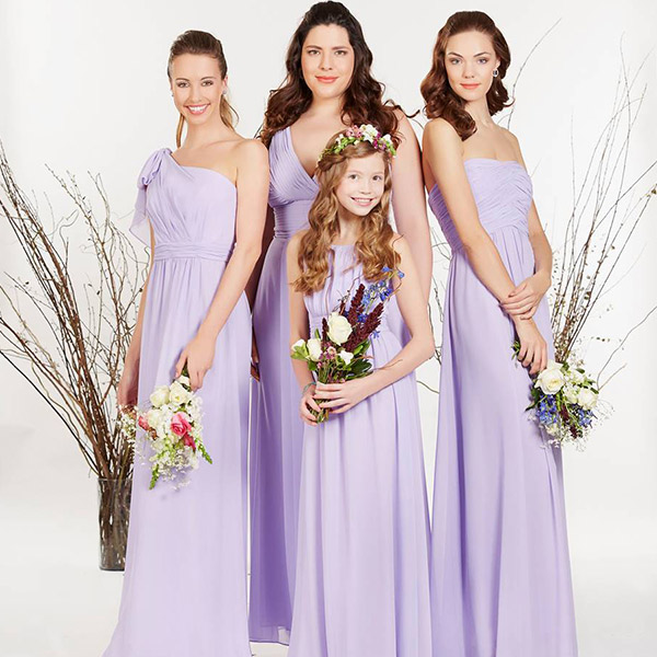 4 VESTIDOS PARA DAMAS DE BRIDESMAIDS COLLECTION BY EVA BRAZZI