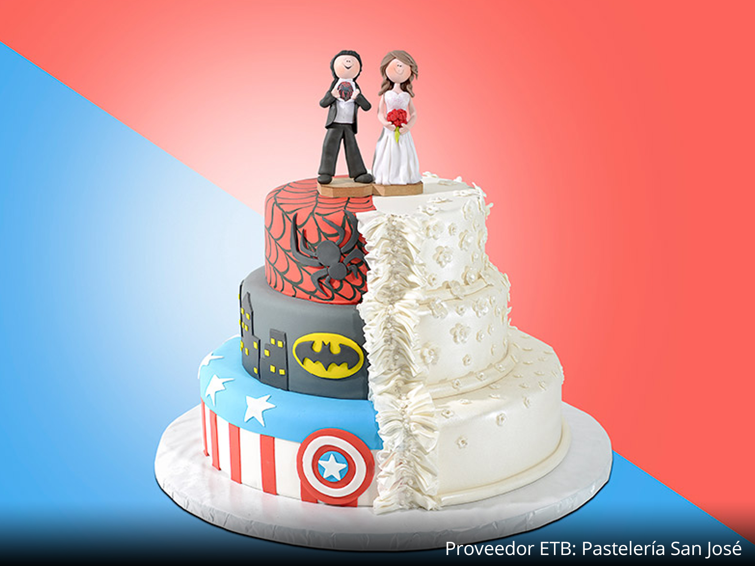 el super wedding cakes 6 pasteles 237 sticamente creativos expo tu boda 14007